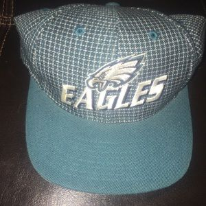 Vintage Philadelphia Eagles LogoAthletics PlaidHat